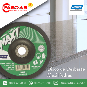 Disco Maxi Pedras - Norton